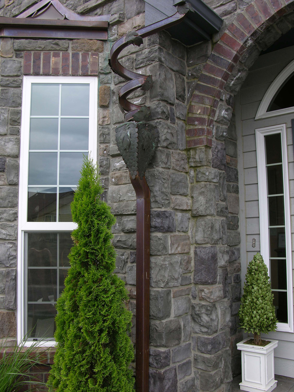 Grapevine art spout